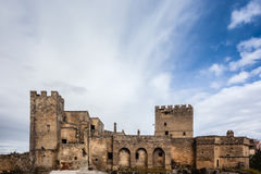 Castle. An ancient castle in the city of Grottaglie, in the south of italy Royalty Free Stock Images