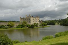 Free Castle And Moat Royalty Free Stock Image - 8485566