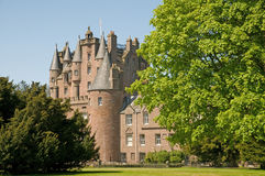 Free Castle And The Trees Stock Image - 9499501