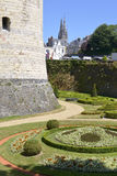 Castle of Angers in France Royalty Free Stock Photography