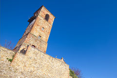 Castle Anghiari, μεσαιωνική πόλη του Αρέζο, Τοσκάνη Στοκ φωτογραφία με δικαίωμα ελεύθερης χρήσης