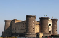 Castle Angioino Stock Images