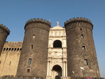 Castle angioino Stock Photo