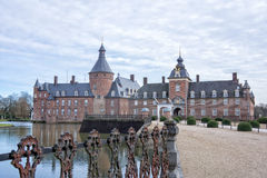 Castle in Anholt, Germany Stock Photo