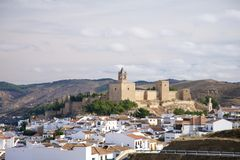 Castle of Antequera Royalty Free Stock Photography