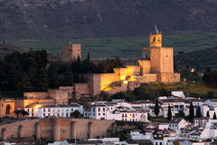 Castle in Antequera, Spain Royalty Free Stock Image