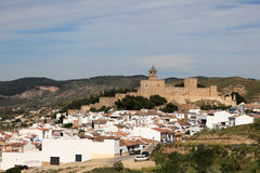 Castle in Antequera, Spain Royalty Free Stock Photos
