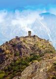 Castle in Aosta Royalty Free Stock Photos