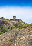 Castle in Aosta Royalty Free Stock Image