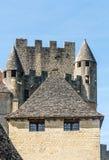 Castle Aquitaine στοκ εικόνα με δικαίωμα ελεύθερης χρήσης