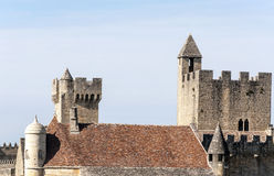 Castle of Aquitaine Royalty Free Stock Photography
