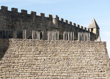 Castle of Aquitaine Royalty Free Stock Photos