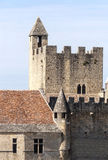 Castle of Aquitaine Stock Photography