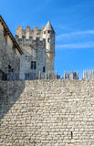 Castle of Aquitaine Royalty Free Stock Images