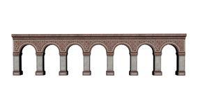 Castle arches - 3D render Stock Photo