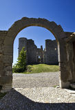 Castle Archway, Bargeme, The Var, France Royalty Free Stock Image