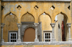 Castle archways Stock Images
