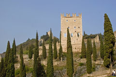 Castle of Arco Stock Photos