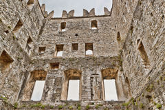 Castle in Arco Stock Image