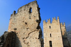 Castle Arco Royalty Free Stock Photo