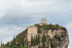 Castle Arco Di Trento Στοκ φωτογραφία με δικαίωμα ελεύθερης χρήσης