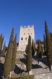 Castle Arco Di Trento - Trentino Ιταλία Στοκ Φωτογραφία