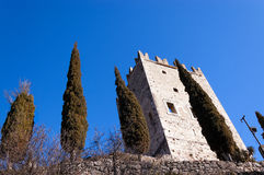 Castle Arco Di Trento - Trentino Ιταλία Στοκ Φωτογραφίες