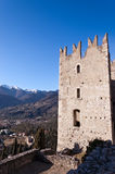 Castle Arco Di Trento - Trentino Ιταλία Στοκ Εικόνες