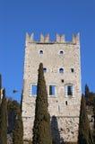 Castle of Arco di Trento - Trentino Italy Stock Image