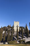 Castle of Arco di Trento - Trentino Italy Stock Images