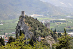 Castle of Arco Stock Image