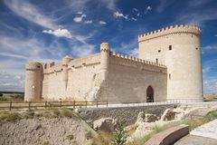 Castle of Arevalo Stock Photos