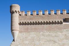 Castle Arevalo Στοκ φωτογραφία με δικαίωμα ελεύθερης χρήσης