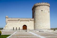 Castle Arevalo Avila Στοκ Φωτογραφίες
