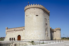 Castle of Arevalo in Avila Stock Photo