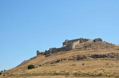 Castle Argos στην Πελοπόννησο, Ελλάδα Στοκ φωτογραφίες με δικαίωμα ελεύθερης χρήσης