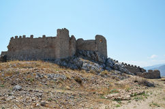 Castle of Argos in Peloponnese, Greece Royalty Free Stock Images