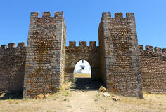Castle, Arraiolos, Portugal stock photo