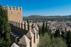 Castle of Arta Mallorca Spain Stock Image