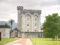 Castle of Arteaga. Of Bizkaia in Spain Stock Photo