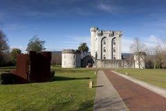 Castle of Arteaga, Bizkaia Stock Image