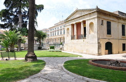 Castle of Asian Art, Corfu Town, Greece, Europe Royalty Free Stock Photography