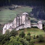 Castle in Austria Stock Photo