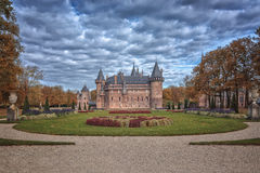 Castle in autumn Stock Photography