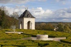 Castle of Auvers-sur-Oise Stock Images