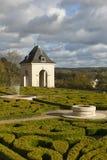 Castle of Auvers-sur-Oise Stock Photo