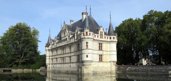 Castle Azay le Rideau Royalty Free Stock Image