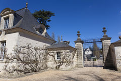 Castle of Azay-le-Rideau Stock Photography