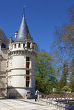 Castle of Azay-le-Rideau Royalty Free Stock Image
