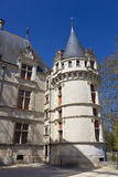 Castle of Azay-le-Rideau Royalty Free Stock Photography